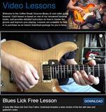 Free Blues lick lesson